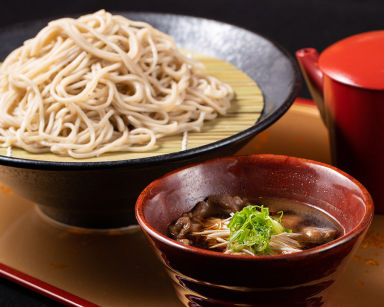 神戸牛肉そばと鉄板焼ステーキ あかぎ屋 日本橋FIVE店 メニューの画像
