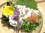 ☆旬のタラ白子!絶品!日本酒にも合う♪大人気メニューです。