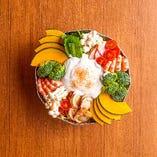 8種の野菜と魚介やチーズの良質なたんぱく質のバランス優秀鍋!