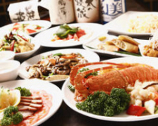 宴会コースは飲放付2.5時間¥3500~