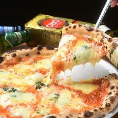【ピザセット】お好きなピザ+ポテト+ドリンク