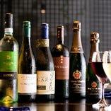 日本酒、焼酎、ワイン、ホッピーなど、お酒の種類も豊富。