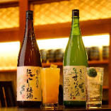 【全国のお酒も】 日本酒、果実酒や焼酎など豊富にご用意