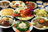 本格中華から家庭的な上海料理まで、幅広く取り揃えております。