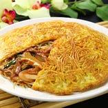 梅蘭焼そば(辛口味)