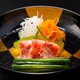 和食の基本はそのままに季節の素材をシンプルに。