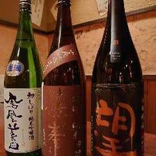 利き酒師が選ぶこだわりの日本酒!