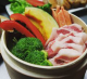 ローズポークと茨城野菜のせいろ蒸し