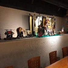 各種宴会は洗練された和モダン空間で