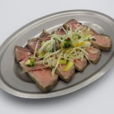 和牛タンの小皿カルパッチョ