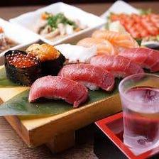 産地直送の新鮮なネタを使った寿司