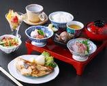 昼餉のおすすめ お魚定食 1000円