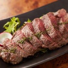 淡路和牛や赤身塊肉など充実