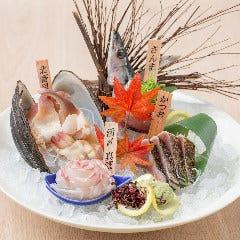 選べる鮮魚3点盛り合わせ