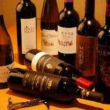 ワイン全70種!日本ワイン30種、世界ワイン40種、がぶ飲み1980円