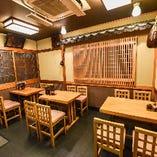 【4名様×3】テーブル席