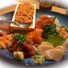こだわりの魚料理宴会4,750円税込〜