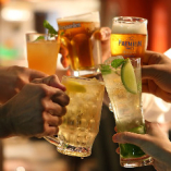 ビールも飲める!充実飲み放題プランが人気