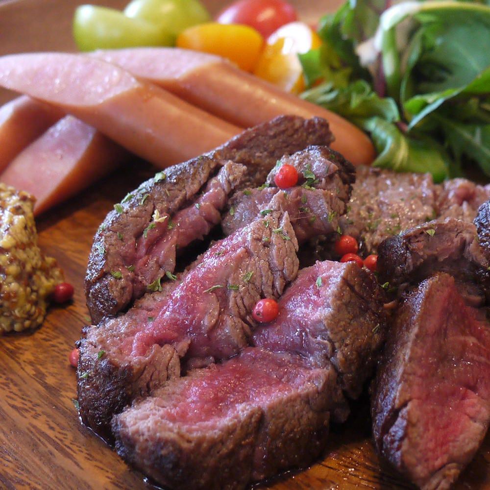 牛フィレ肉のアソート(裏メニュー)