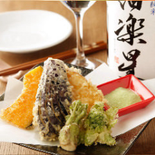 季節の天ぷらセット