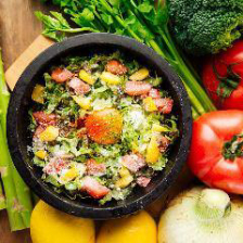 厳選したお野菜を日替わりで楽しめる