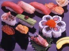 全て天然、年間130種以上の新鮮魚介