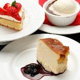 デザートまで自家製にこだわり、最後までご満足いただけます♪