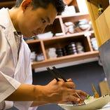 正当和食と創意をバランス良く配した料理をご堪能ください