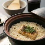 鯛の炊込み御飯