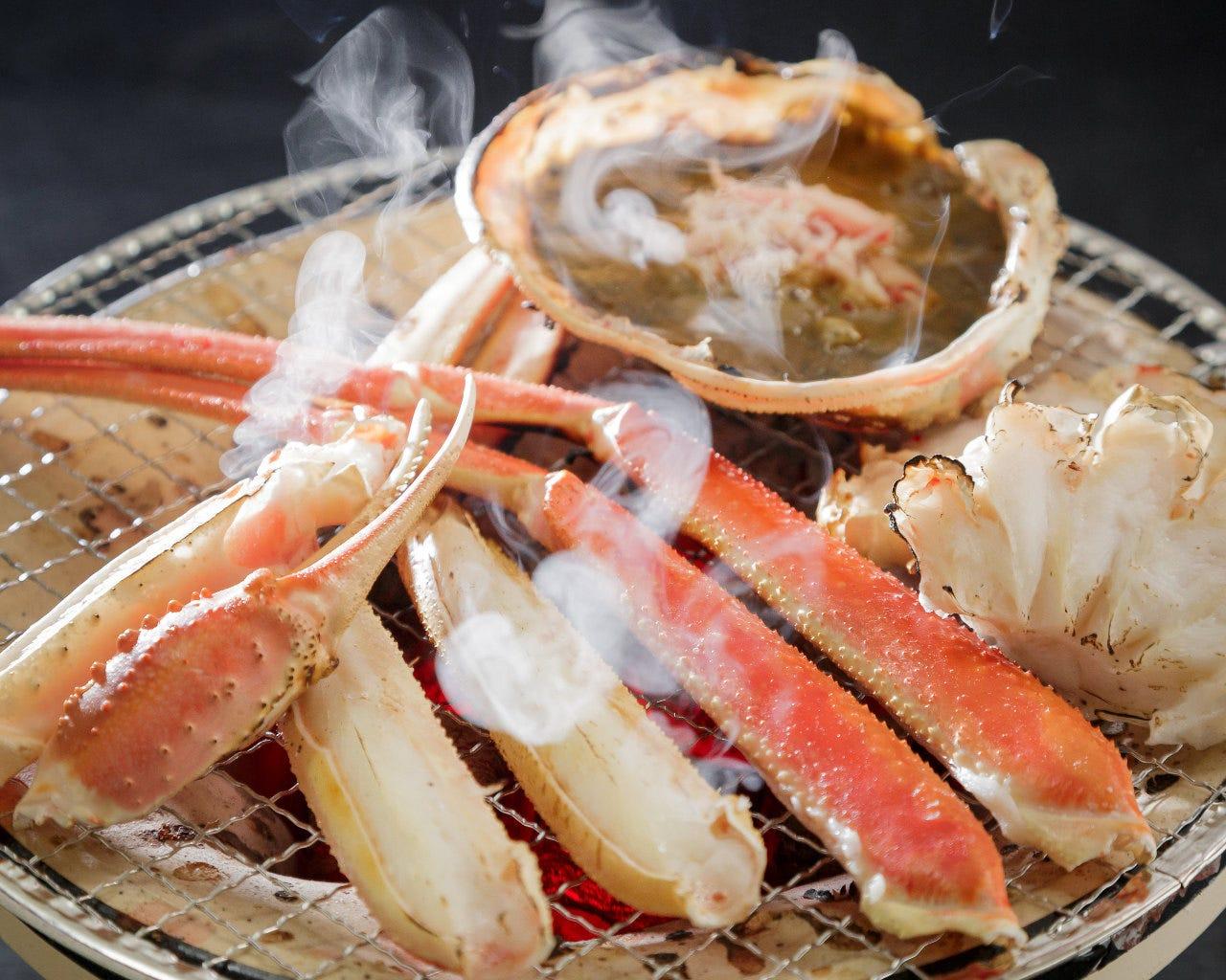 蟹七輪焼き