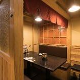 ◆テーブル席◆ 3名~6名様向け。仕事帰りの集まり等にも◎