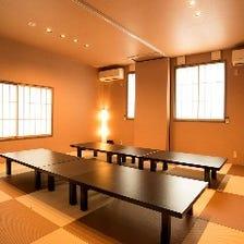 2階の宴会個室!