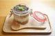 季節のフルーツと豆腐クリームのティラミス