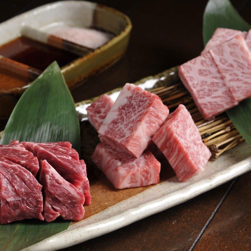 通の厚切りで、肉の旨みをしっかり味わってください