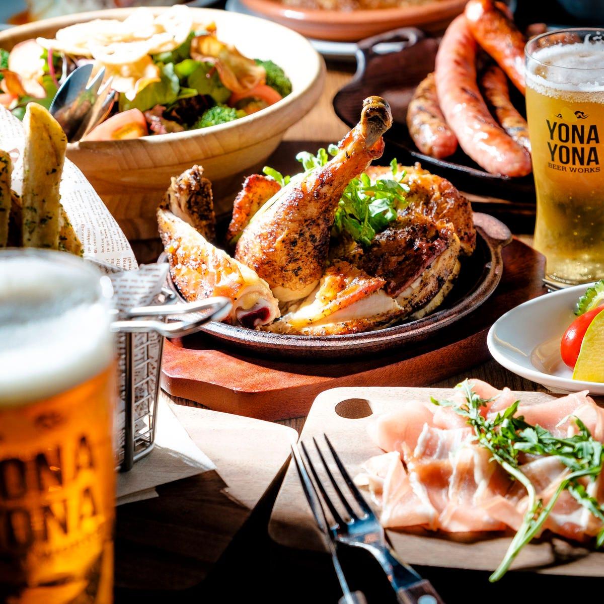 クラフトビールに相性抜群の料理 ※画像はイメージです。