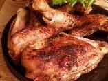 名物!国産鶏ローストチキン