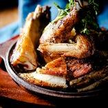 国産銘柄鶏ローストチキン