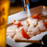 鮮魚の炙りカルパッチョ