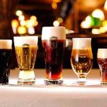こだわりのクラフトビールをご堪能ください。【-】