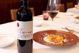 シェフ兼ソムリエの佐藤が提案する ペアリングワイン