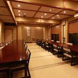 テーブル席完全個室(10~32名様)
