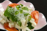旬野菜の豆腐サラダ