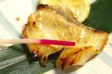 銀むつ(メロ)の西京味噌焼き