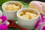 南瓜クリームの豆腐グラタン