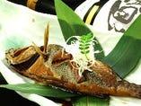 鮮魚のあら煮(数量限定)