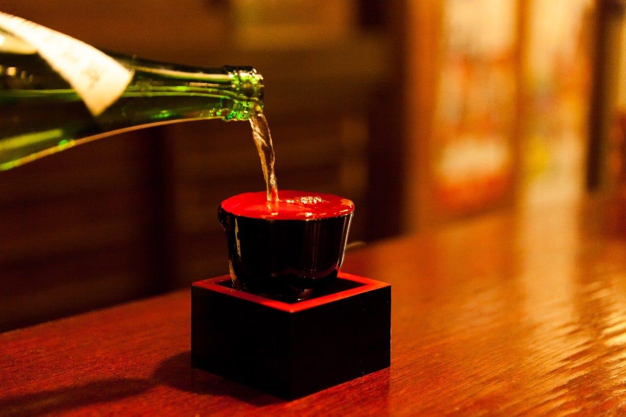 厳選されたご満足頂ける日本酒を御用い致しております。