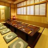 2階席は全室個室席となっております。接待も可能です。