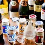 切子グラスや陶器で…有名酒蔵の銘柄もリーズナブル!!