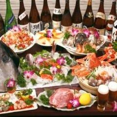 日本酒と完全個室 神の斬新