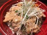 ねぎ味噌豚丼